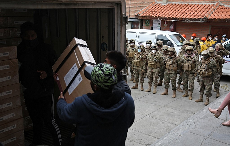 A key question in Bolivia is whether people be allowed to vote in a free and fair manner