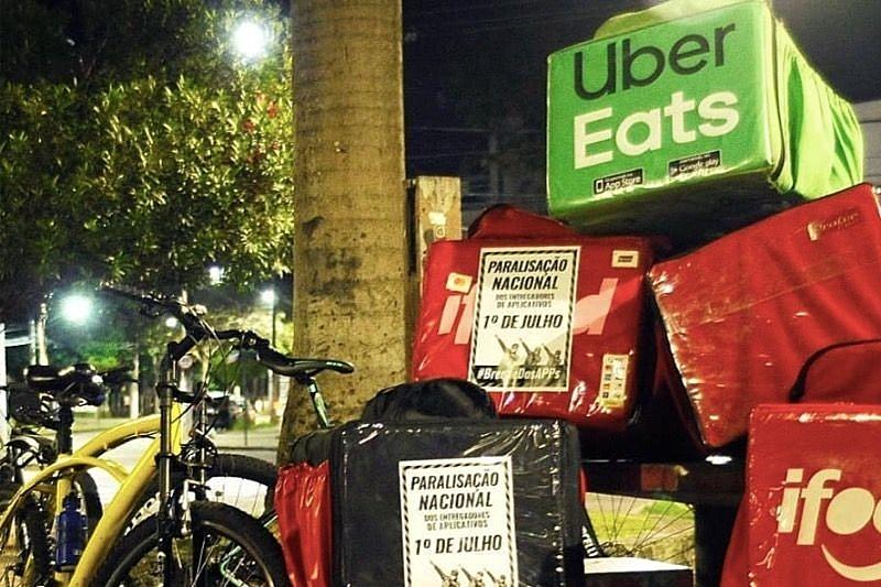 Principais aplicativos de delivery enfrentam greve de entregadores - Entenda o motivo