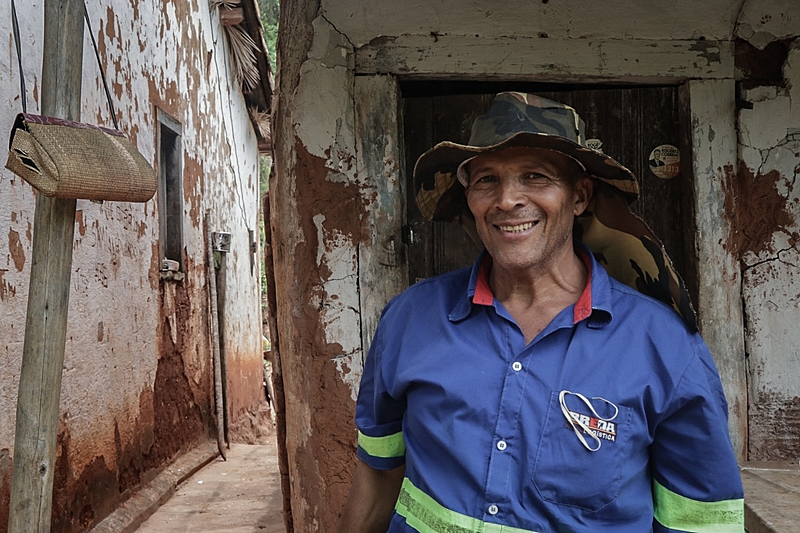 """O geraizeiro Valdir Gouveia, de 58 anos, sente a comunidade geraizeira como um """"atrapalho"""" para a mineradora"""