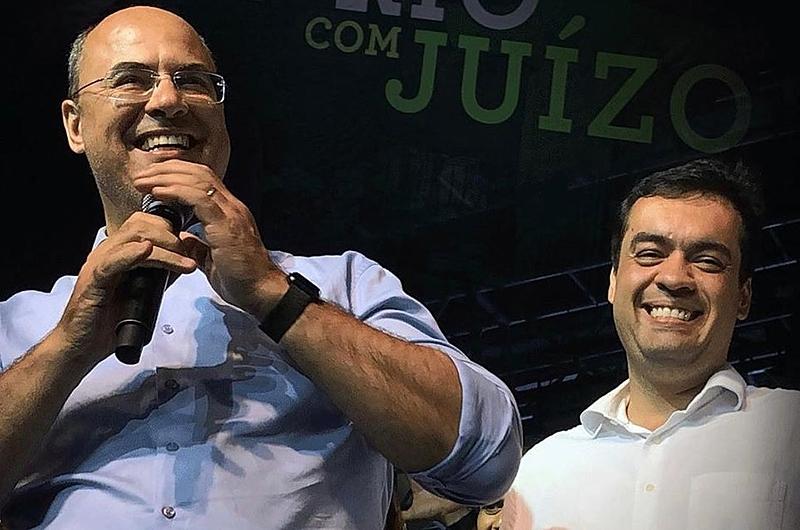 Witzel e Cláudio Castro