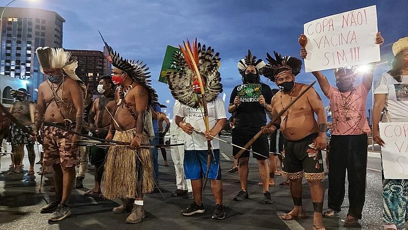 indigenas, marco temporal, brasilia