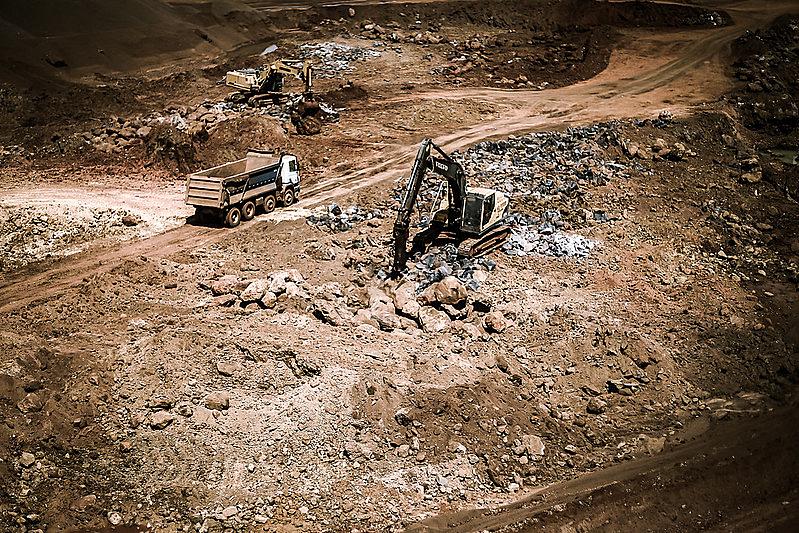 Brumadinho, obra, mineração