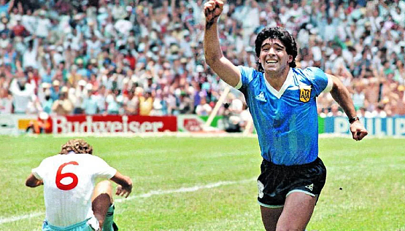 Maradona, copa 1986