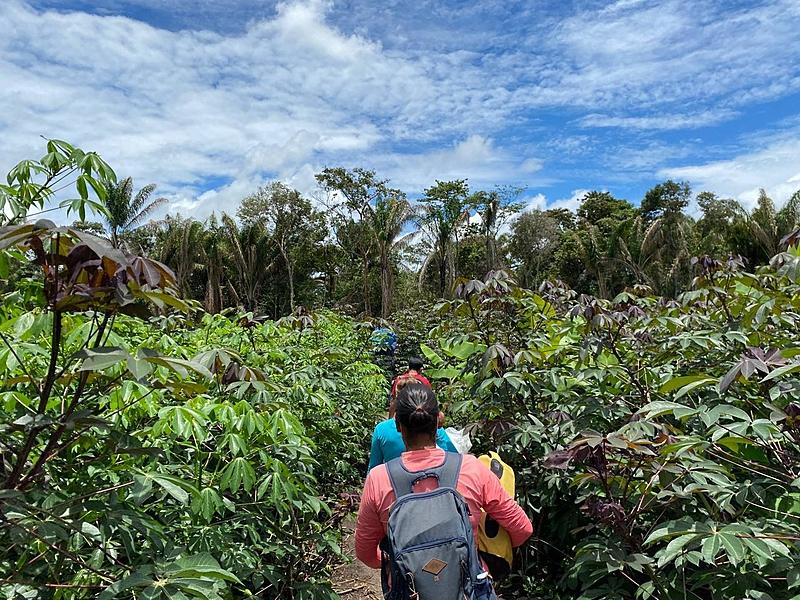 Chegada das vacinas ao Baixo Xingu
