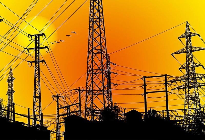 fios de energia